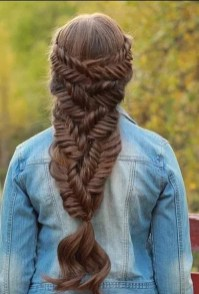 Fishtail Hairstyles for all situations 3