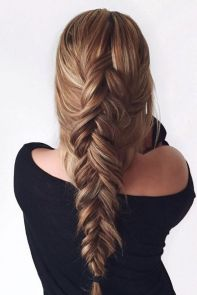 Fishtail Hairstyles for all situations 32