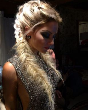 Fishtail Hairstyles for all situations 37