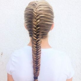 Fishtail Hairstyles for all situations 39