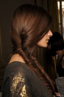 Fishtail Hairstyles for all situations 41