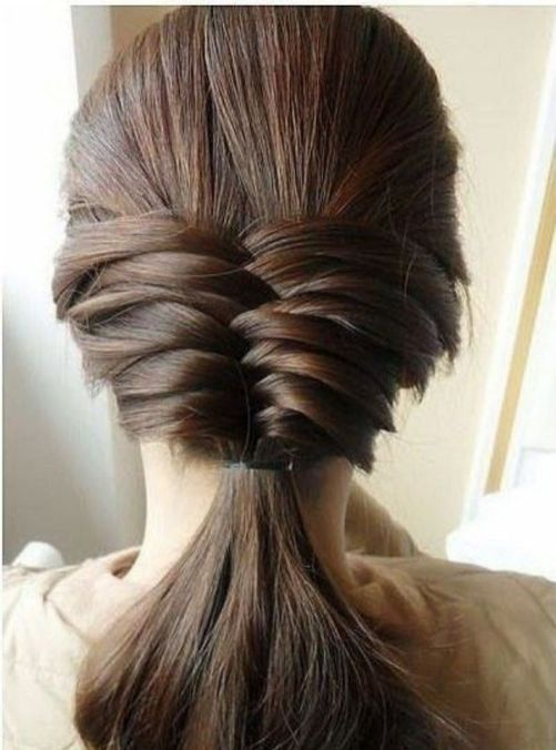 Fishtail Hairstyles for all situations 43