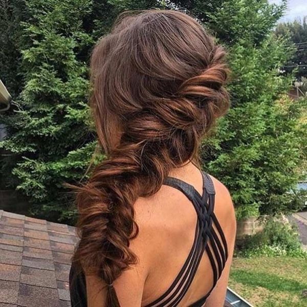Fishtail Hairstyles for all situations 44