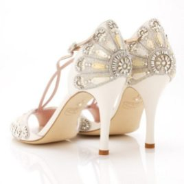 Floral Wedding Shoes Ideas You Never Seen Before 16