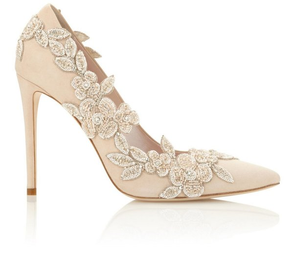 Floral Wedding Shoes Ideas You Never Seen Before 28