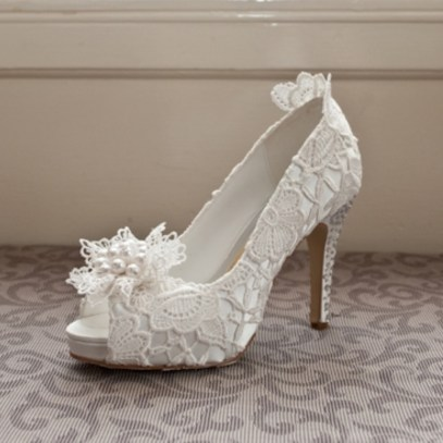 Floral Wedding Shoes Ideas You Never Seen Before 29
