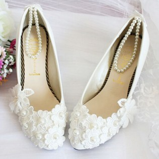 Floral Wedding Shoes Ideas You Never Seen Before 30
