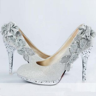 Floral Wedding Shoes Ideas You Never Seen Before 44