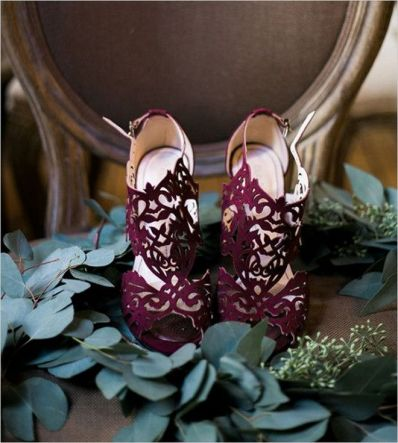 Floral Wedding Shoes Ideas You Never Seen Before 6
