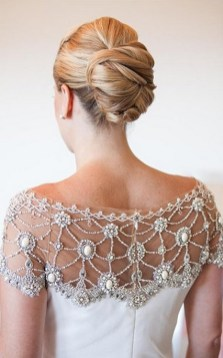 Hairstyles for long hair at wedding Ideas 36