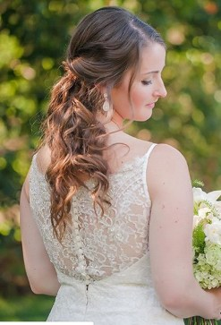 Hairstyles for long hair at wedding Ideas 50
