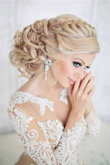 Hairstyles for long hair at wedding Ideas 63