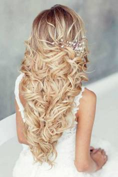 Hairstyles for long hair at wedding Ideas 68