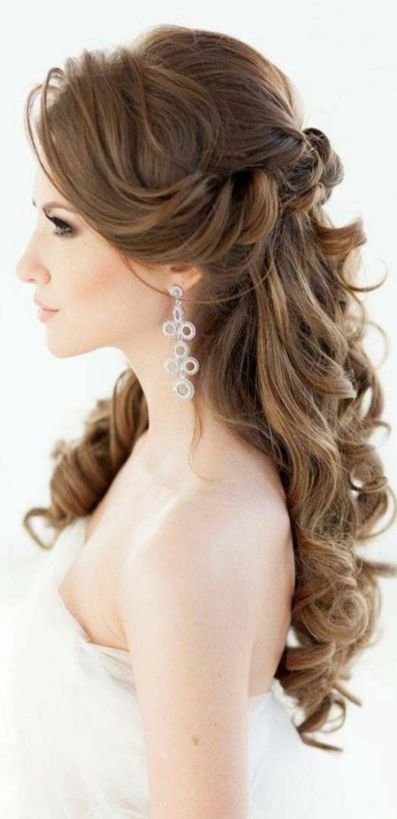 Hairstyles for long hair at wedding Ideas 72