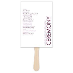 Simple Wedding Reception Program Sample Ideas 24