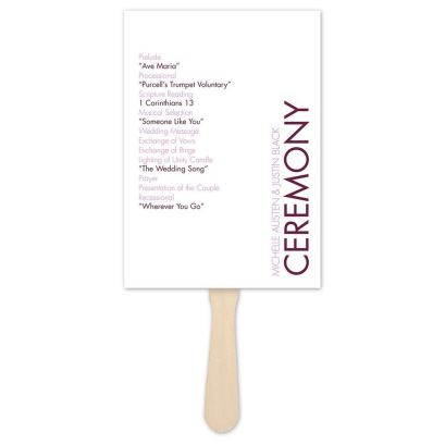 Simple Wedding Reception Program Sample Ideas 24