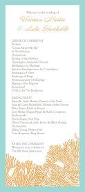 Simple Wedding Reception Program Sample Ideas 31