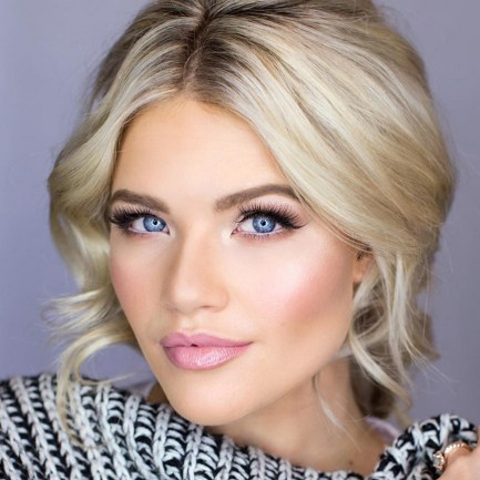 Soft and Romantic wedding makeup looks for fair skin 11