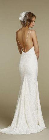 Spaghetti Strap Wedding Day Dresses Gowns ideas 15