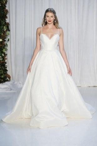 Spaghetti Strap Wedding Day Dresses Gowns ideas 17