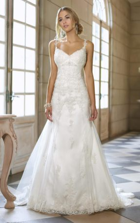 Spaghetti Strap Wedding Day Dresses Gowns ideas 18