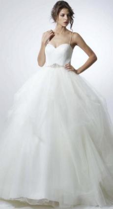 Spaghetti Strap Wedding Day Dresses Gowns ideas 22