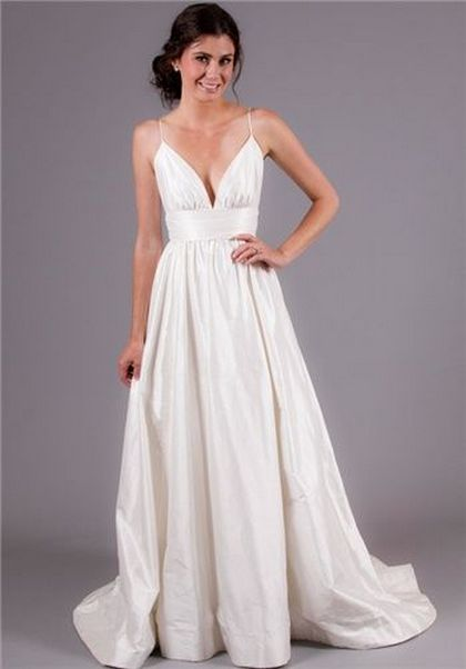 Spaghetti Strap Wedding Day Dresses Gowns ideas 25