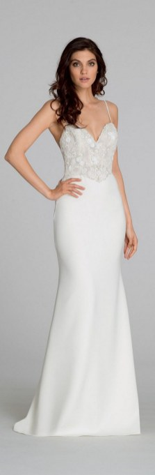 Spaghetti Strap Wedding Day Dresses Gowns ideas 33