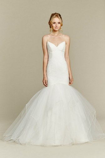 Spaghetti Strap Wedding Day Dresses Gowns ideas 34