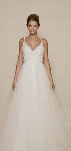 Spaghetti Strap Wedding Day Dresses Gowns ideas 35