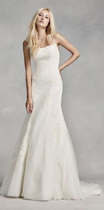 Spaghetti Strap Wedding Day Dresses Gowns ideas 39