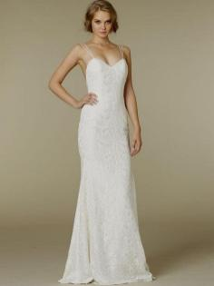 Spaghetti Strap Wedding Day Dresses Gowns ideas 50