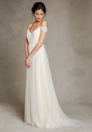 Spaghetti Strap Wedding Day Dresses Gowns ideas 58
