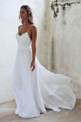 Spaghetti Strap Wedding Day Dresses Gowns ideas 63