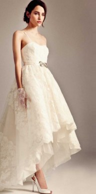 Spaghetti Strap Wedding Day Dresses Gowns ideas 68
