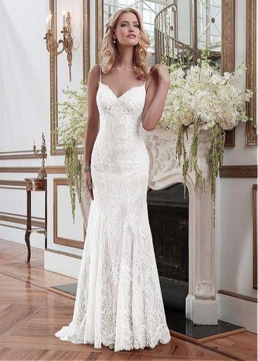 Spaghetti Strap Wedding Day Dresses Gowns ideas 70