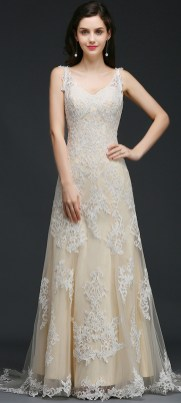 Spaghetti Strap Wedding Day Dresses Gowns ideas 75