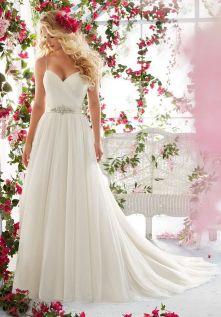 Spaghetti Strap Wedding Day Dresses Gowns ideas 79