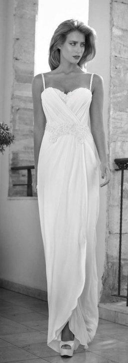 Spaghetti Strap Wedding Day Dresses Gowns ideas 83