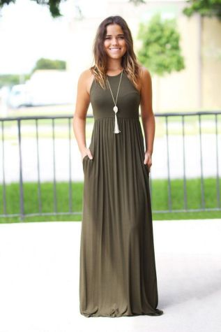 Women Casual Long Maxi Dresses with Pockets ideas 1