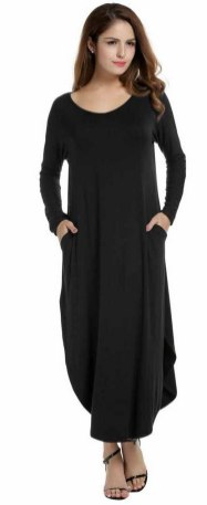 Women Casual Long Maxi Dresses with Pockets ideas 14