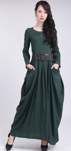 Women Casual Long Maxi Dresses with Pockets ideas 18