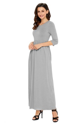 Women Casual Long Maxi Dresses with Pockets ideas 19