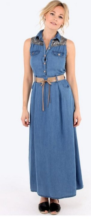 Women Casual Long Maxi Dresses with Pockets ideas 26