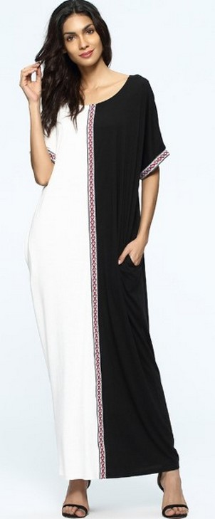 Women Casual Long Maxi Dresses with Pockets ideas 27