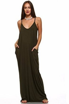 Women Casual Long Maxi Dresses with Pockets ideas 8