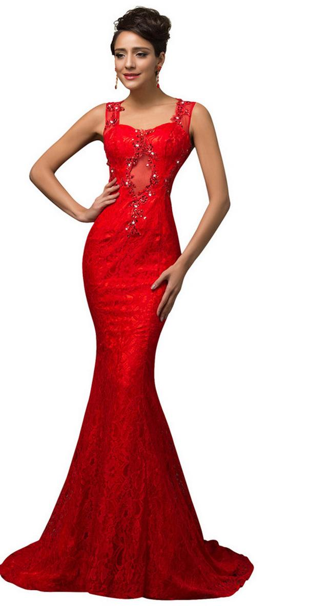Women Sexy 30s Brief Elegant Mermaid Evening Dress ideas 17