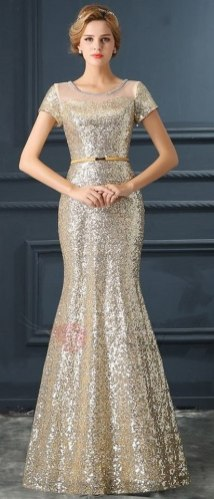 Women Sexy 30s Brief Elegant Mermaid Evening Dress ideas 2