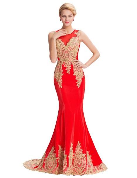 Women Sexy 30s Brief Elegant Mermaid Evening Dress ideas 20