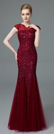 Women Sexy 30s Brief Elegant Mermaid Evening Dress ideas 21